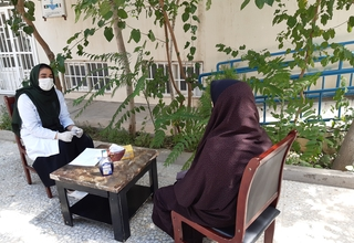 Protection and social services remain available even during the pandemic, with precautionary measures in place. © UNFPA Afghanistan