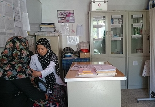 Najiba works in one of the hardest-to-reach, poorest areas of Bamyan. © UNFPA Afghanistan
