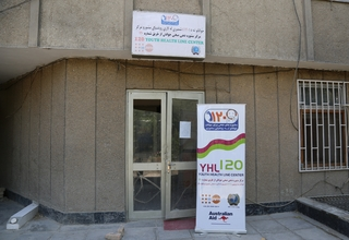 The UNFPA Afghanistan supported Youth Health Line operates through the Ministry of Public Health Afghanistan – Photo: Zaeem Abdul Rahman/UNFPA Afghanistan