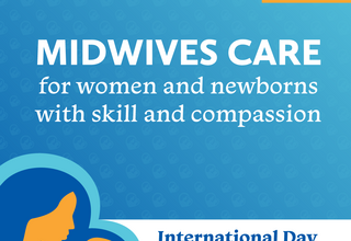 """International Day of the Midwife """"Women and Newborns: the Heart of Midwifery"""""""