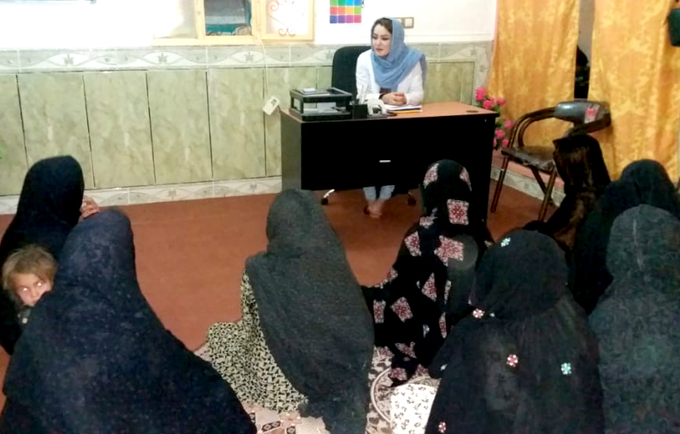 Rukhsar plays key role in providing psychosocial and mediation services for women in Nimroz Province
